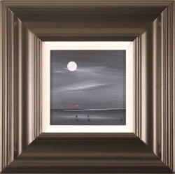 Jay Nottingham, Moonlight Kite, Original oil painting on panel