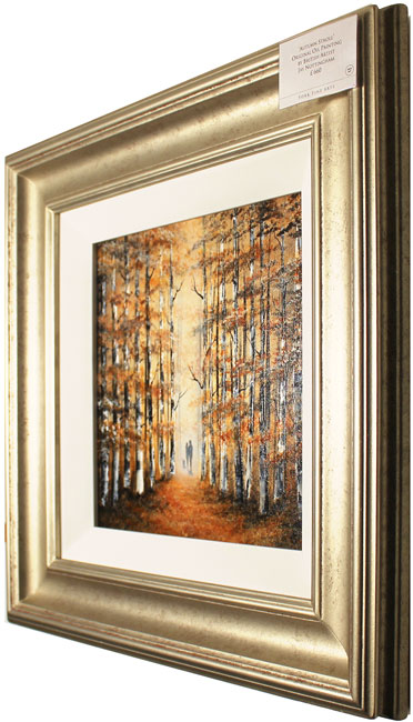 Jay Nottingham, Original oil painting on panel, Autumn Stroll Additional image. Click to enlarge