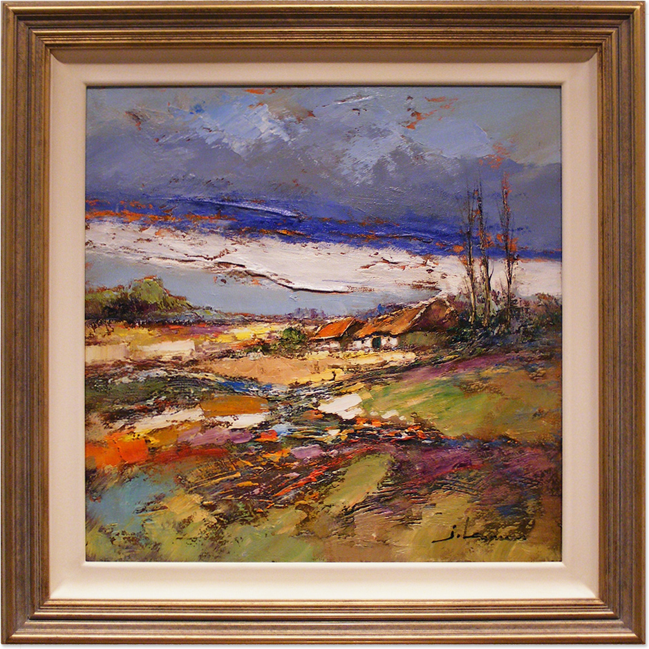 Jef Lenaers, Original oil painting on canvas, Untitled, click to enlarge