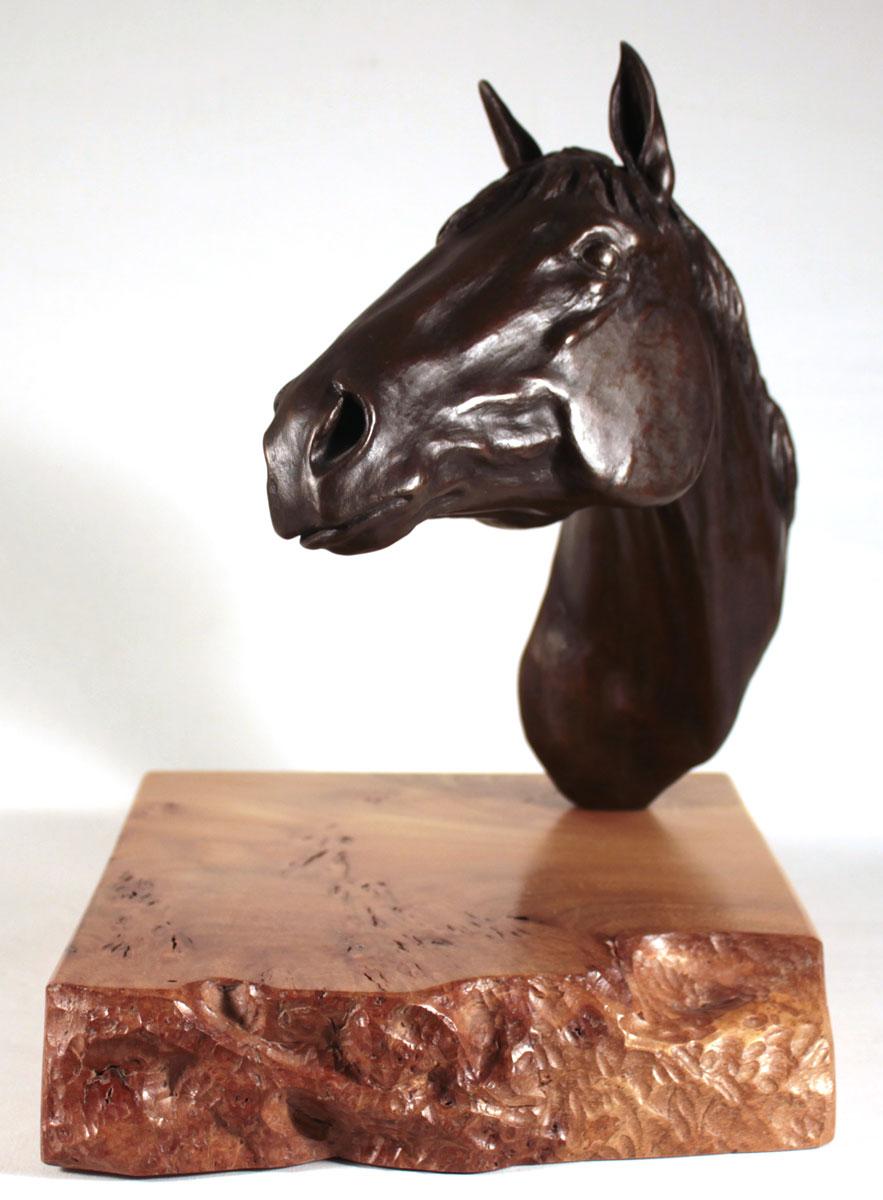 Joseph Hayton, Bronze, Pride, click to enlarge