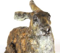 Joseph Hayton, Bronze, Hare Large image. Click to enlarge