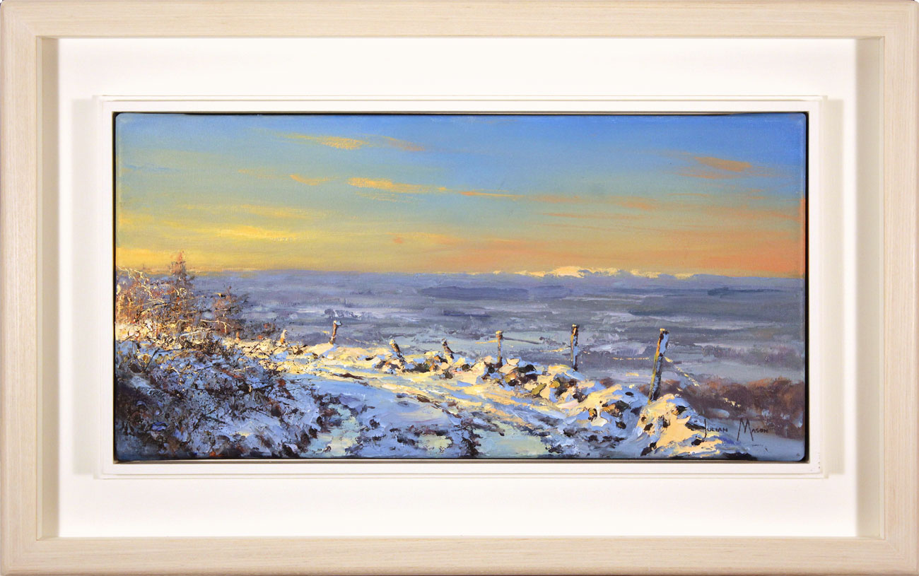 Julian Mason, Original oil painting on canvas, Winter Light, click to enlarge