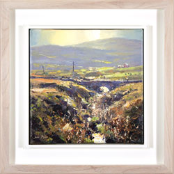 Julian Mason, Original oil painting on canvas, Goldstitch Moss Large image. Click to enlarge