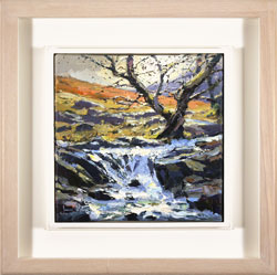 Julian Mason, High Force, Original oil painting on canvas