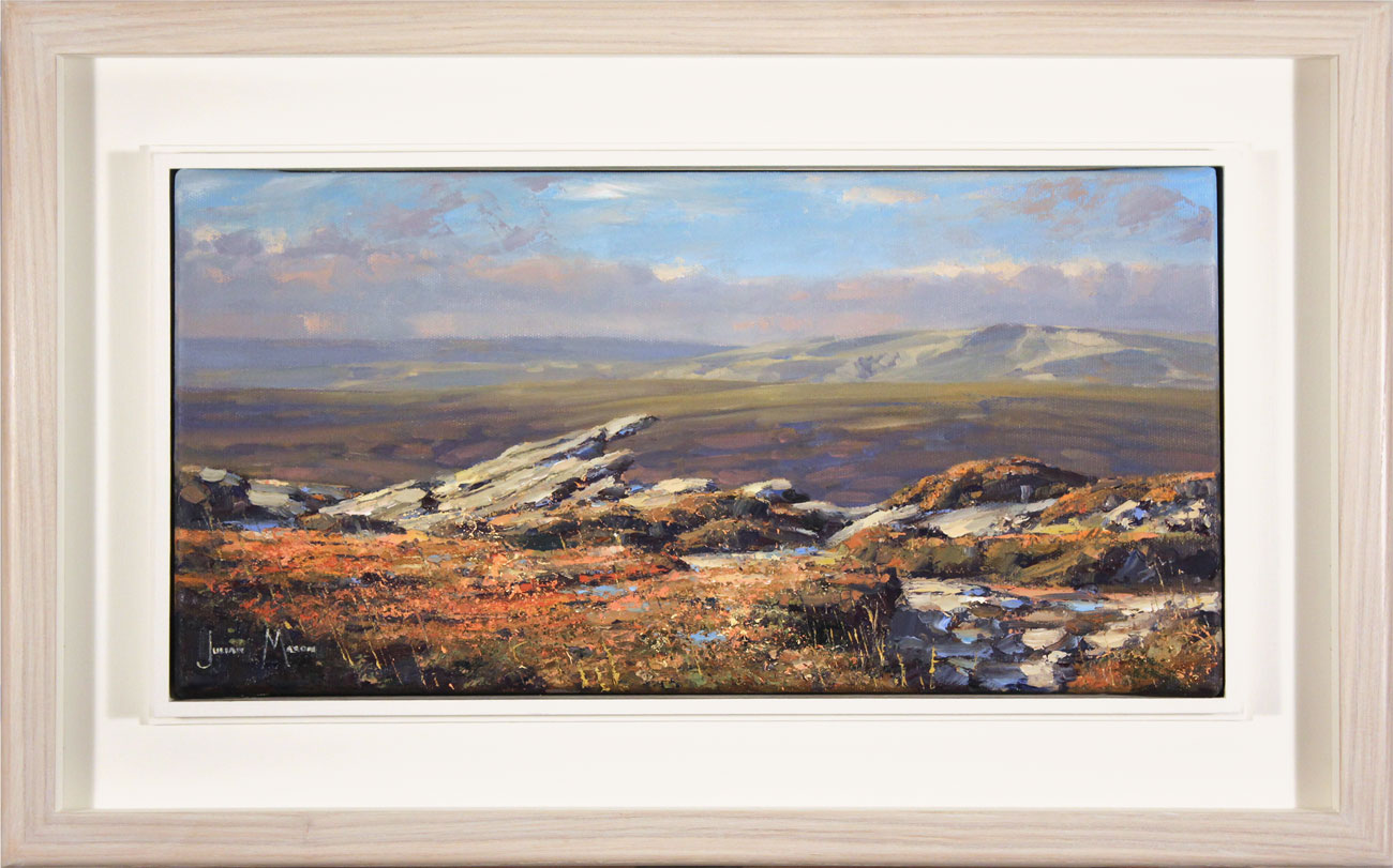 Julian Mason, Original oil painting on canvas, The Edge, Kinder, click to enlarge