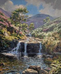 Julian Mason, Original oil painting on canvas, Summer Hues, Fairbrook Large image. Click to enlarge