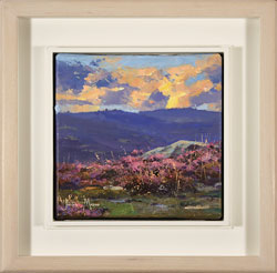 Julian Mason, Original oil painting on canvas, Bamford Heather Large image. Click to enlarge