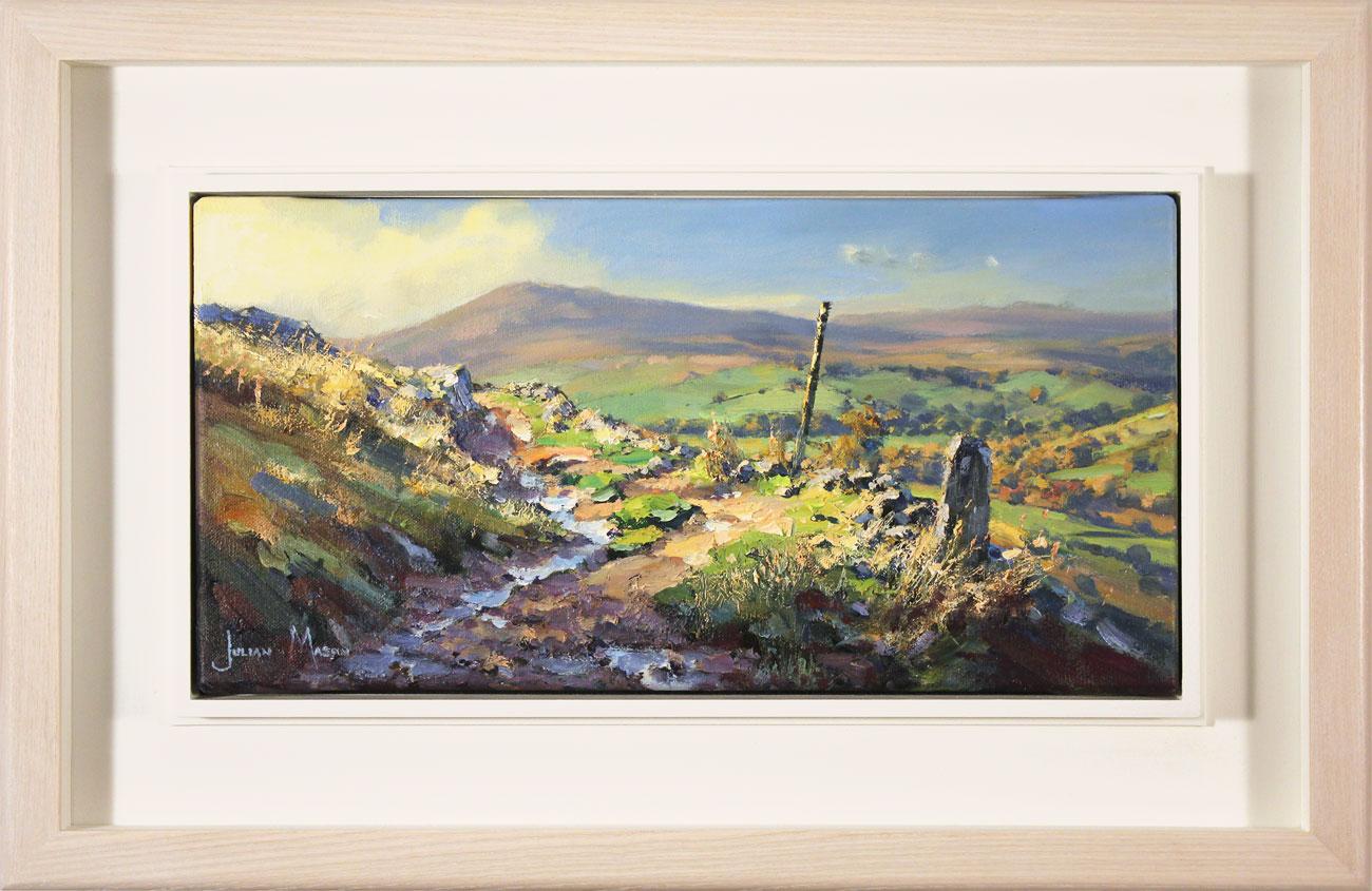 Julian Mason, Original oil painting on canvas, Gradbach from Turn Edge , click to enlarge