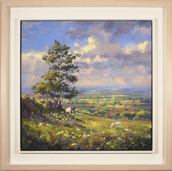 Julian Mason, Original oil painting on canvas, May Days