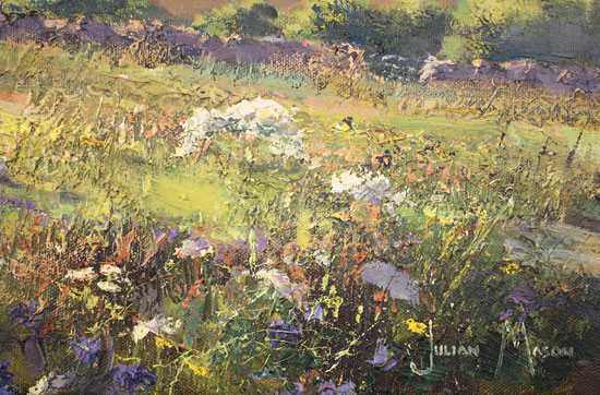 Julian Mason, Original oil painting on canvas, May Days Signature image. Click to enlarge