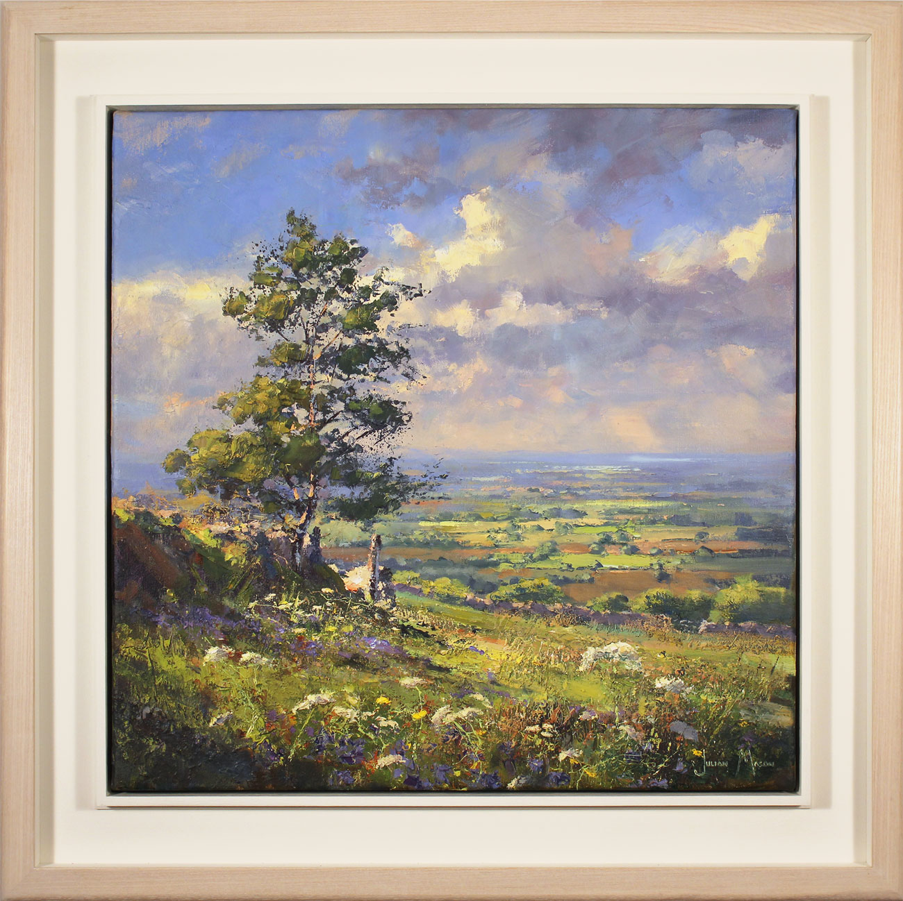 Julian Mason, Original oil painting on canvas, May Days. Click to enlarge