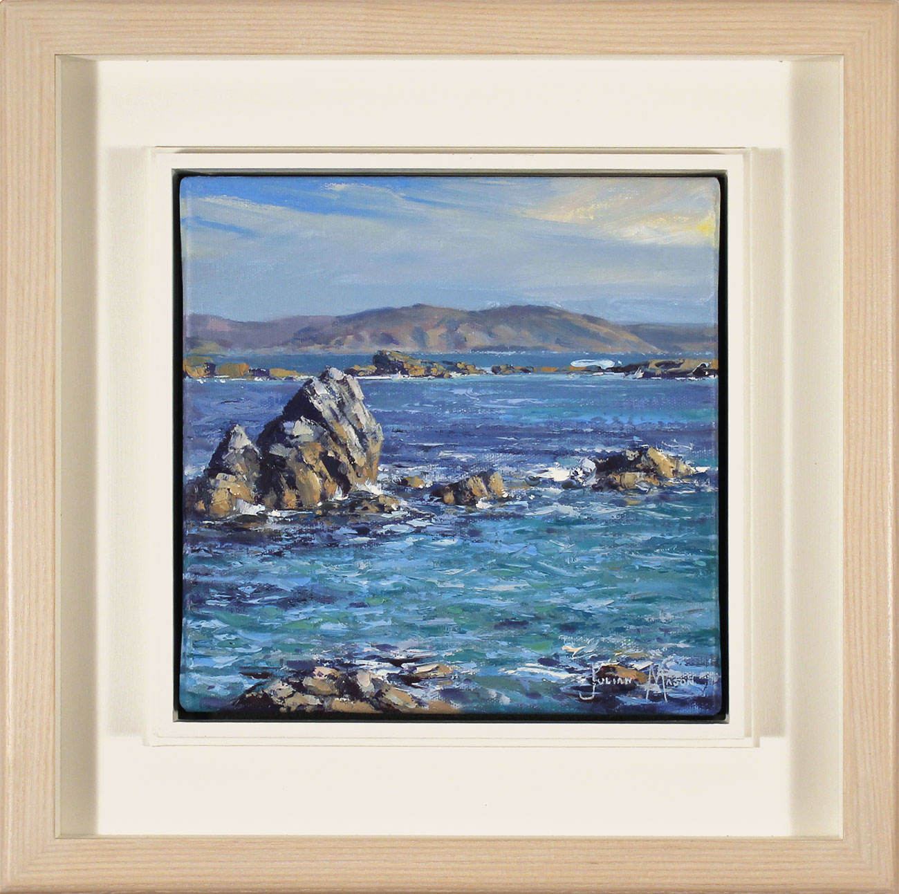 Julian Mason, Original oil painting on canvas, Colours of Iona, click to enlarge
