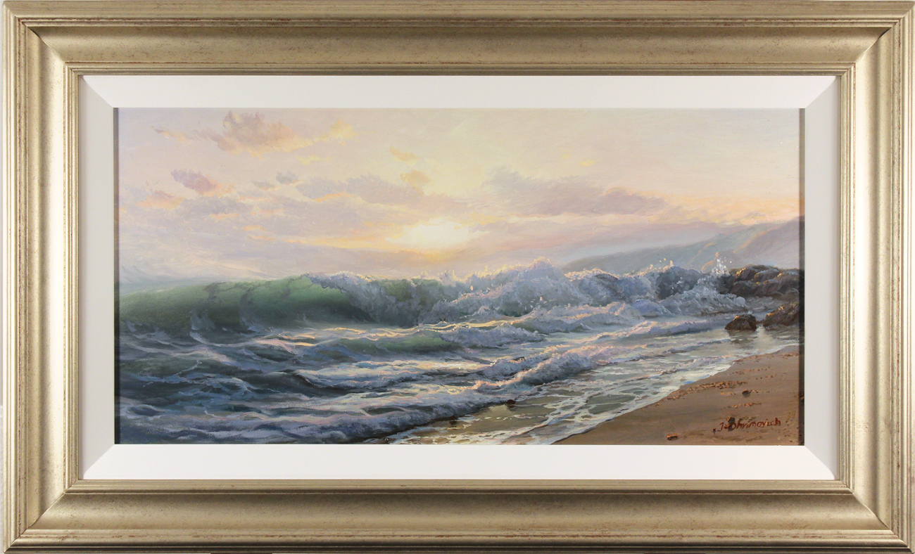 Juriy Ohremovich, Original oil painting on canvas, Power of the Sea, click to enlarge