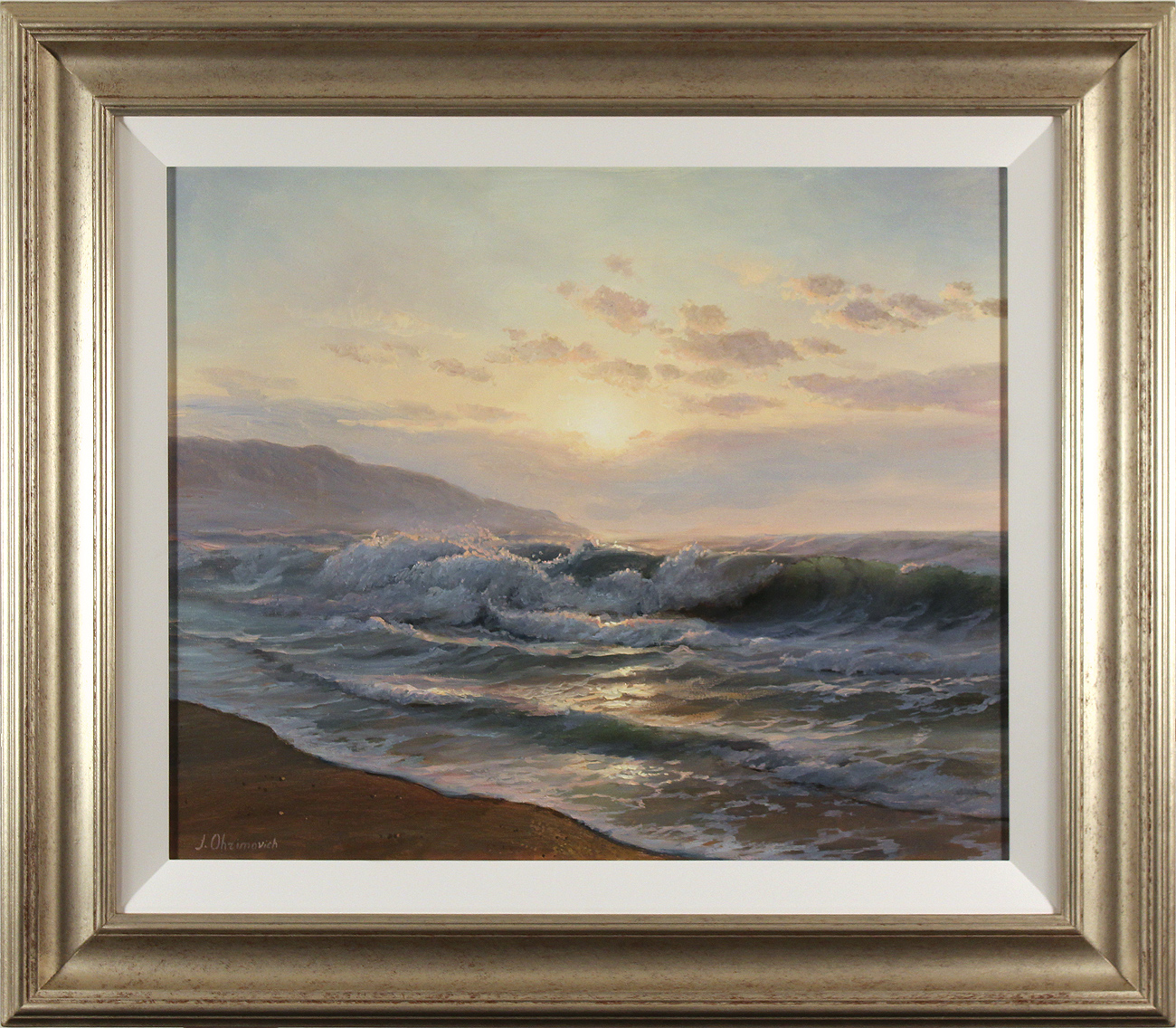Juriy Ohremovich, Original oil painting on canvas, Sunrise. Click to enlarge