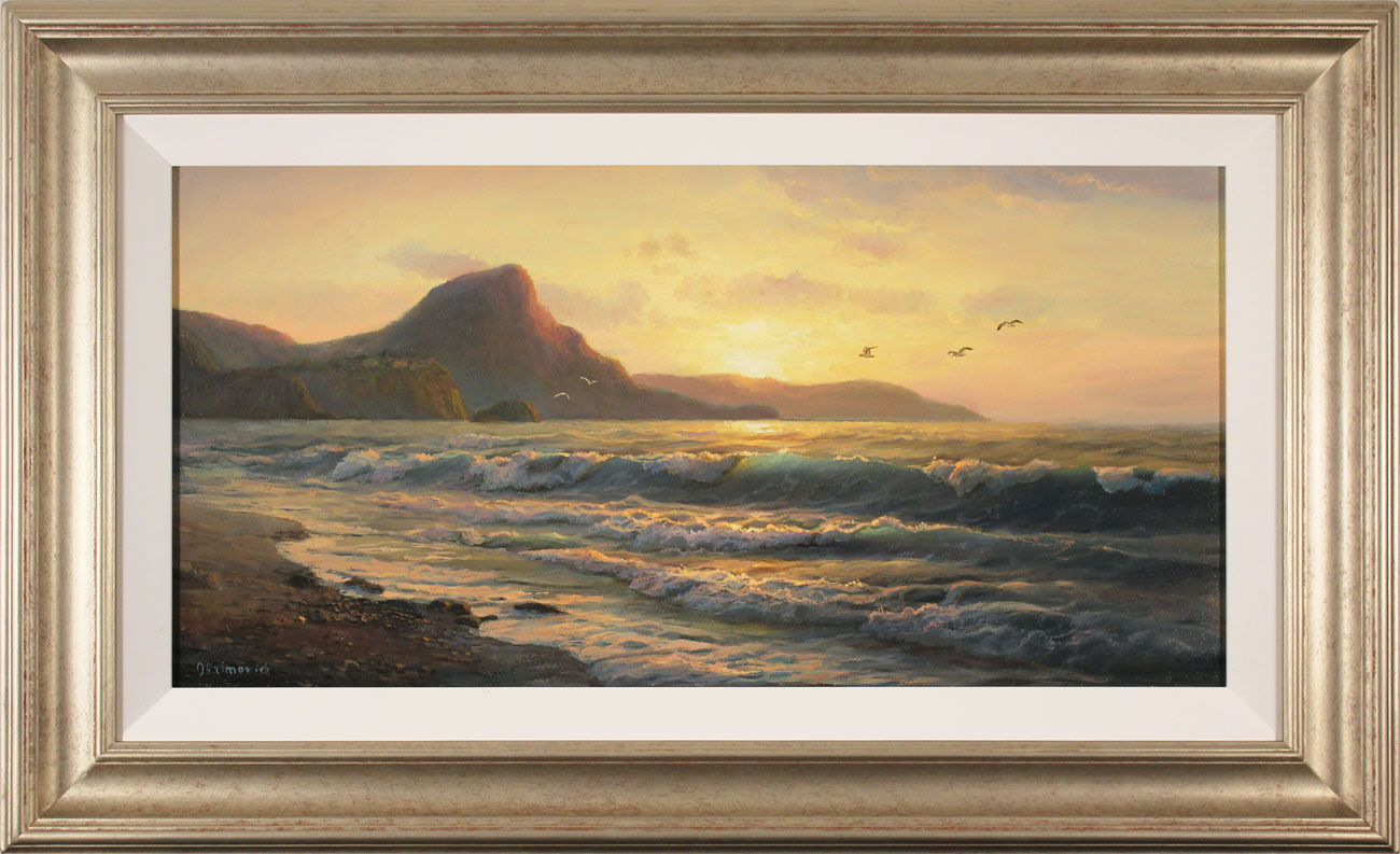 Juriy Ohremovich, Original oil painting on canvas, Evening Tides, click to enlarge