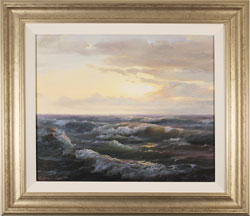 Juriy Ohremovich, Original oil painting on canvas, Sunrise Tides Large image. Click to enlarge