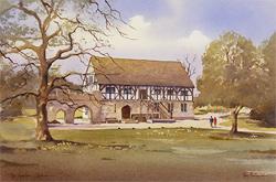 Ken Burton, Watercolour, The Hospitium, York Large image. Click to enlarge
