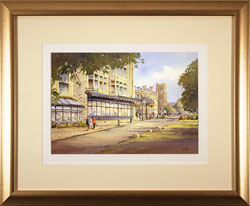 Ken Burton, Watercolour, Betty's, Harrogate