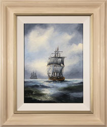 Ken Hammond, Original oil painting on canvas, High Seas