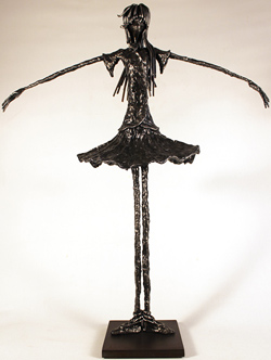 Leon Leigh, Steel Sculpture, Untitled Large image. Click to enlarge