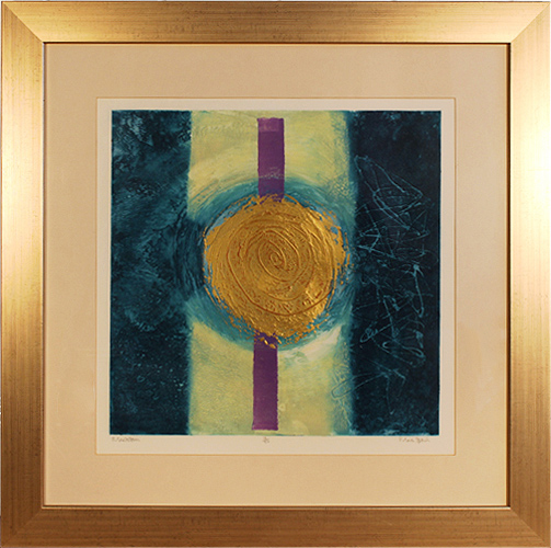 Mark Spain, Limited edition collagraph, Maelstrom, click to enlarge
