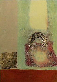Mark Spain, Limited edition collagraph, Mirage