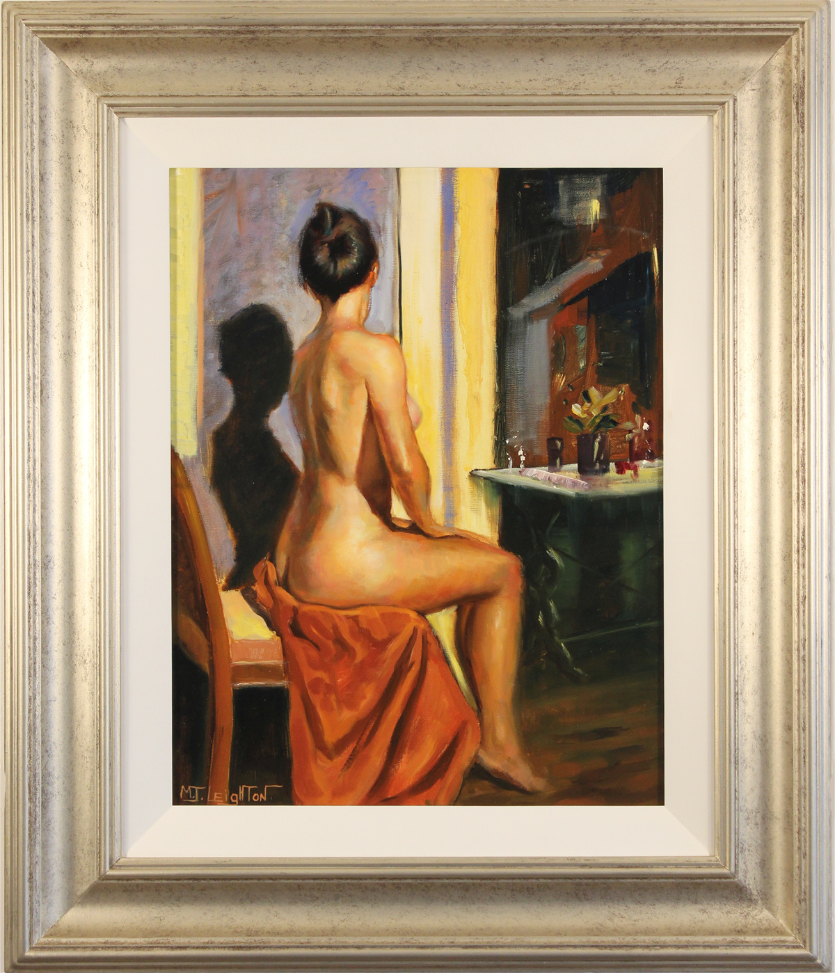Martin Leighton, Original oil painting on canvas, Elegance, click to enlarge
