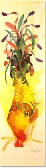 Mary Ann Rogers, Signed limited edition print, Peck No frame image. Click to enlarge