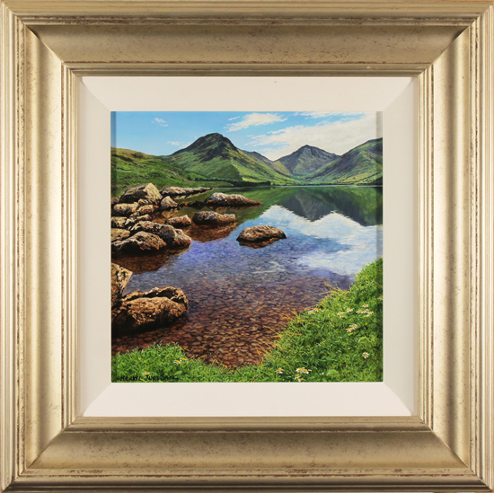 Michael James Smith, Original oil painting on panel, Lake District