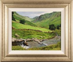 Michael James Smith, Original oil painting on panel, Cumbria