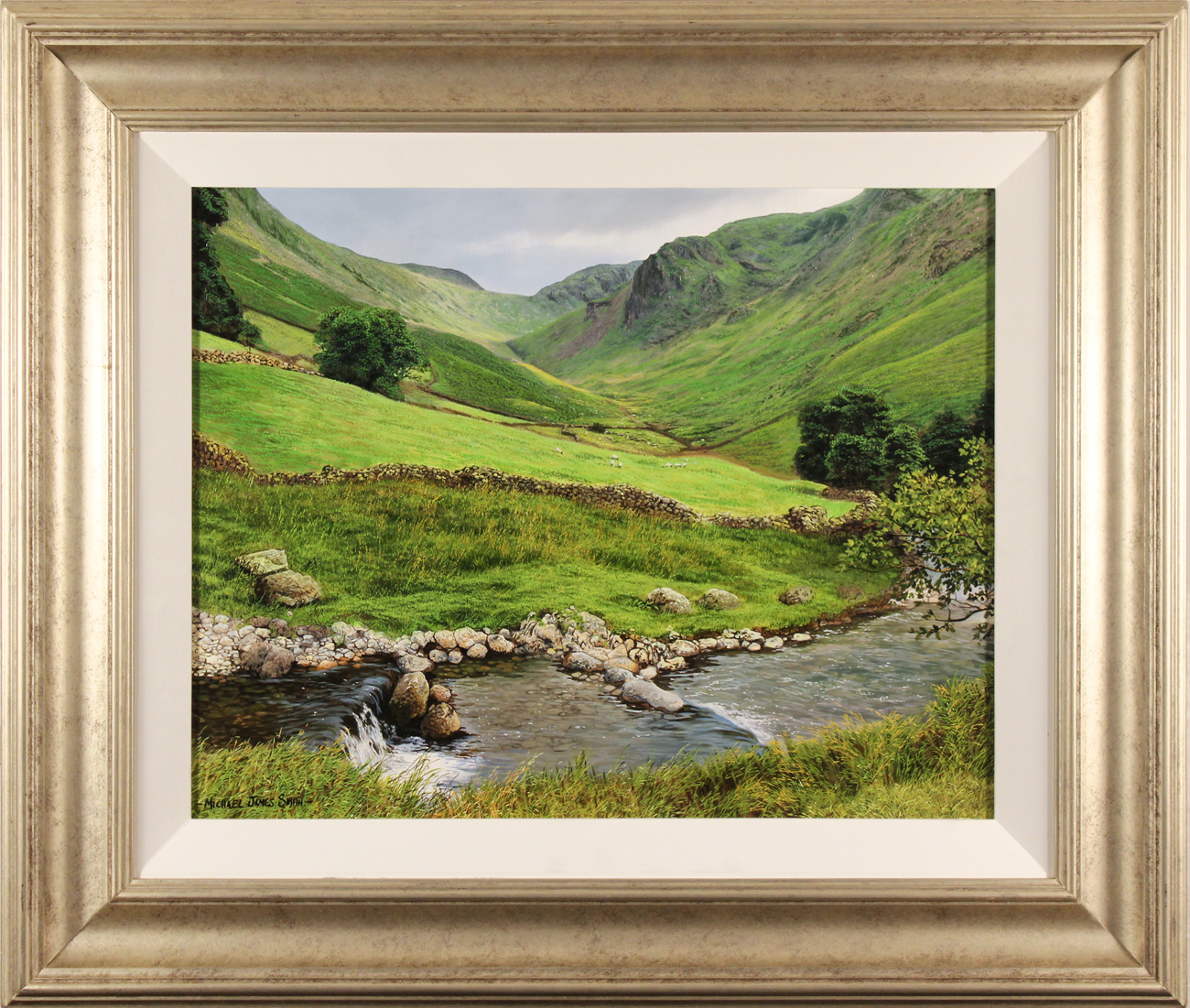 Michael James Smith, Original oil painting on panel, Cumbria, click to enlarge