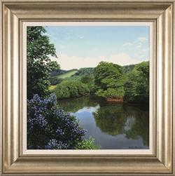 Michael James Smith, British landscape artist at York Fine Arts