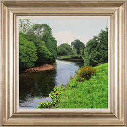 Michael James Smith, British landscape artist at York Fine Arts