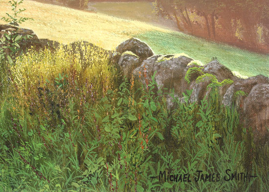Michael James Smith, Original oil painting on canvas, Keswick Signature image. Click to enlarge