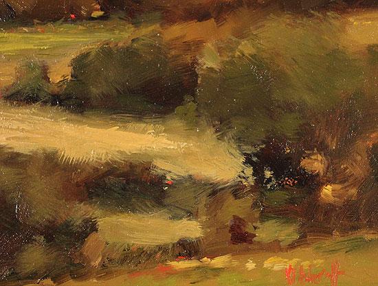 Michael John Ashcroft, AROI, Original oil painting on panel, On the Edge of Autumn Signature image. Click to enlarge