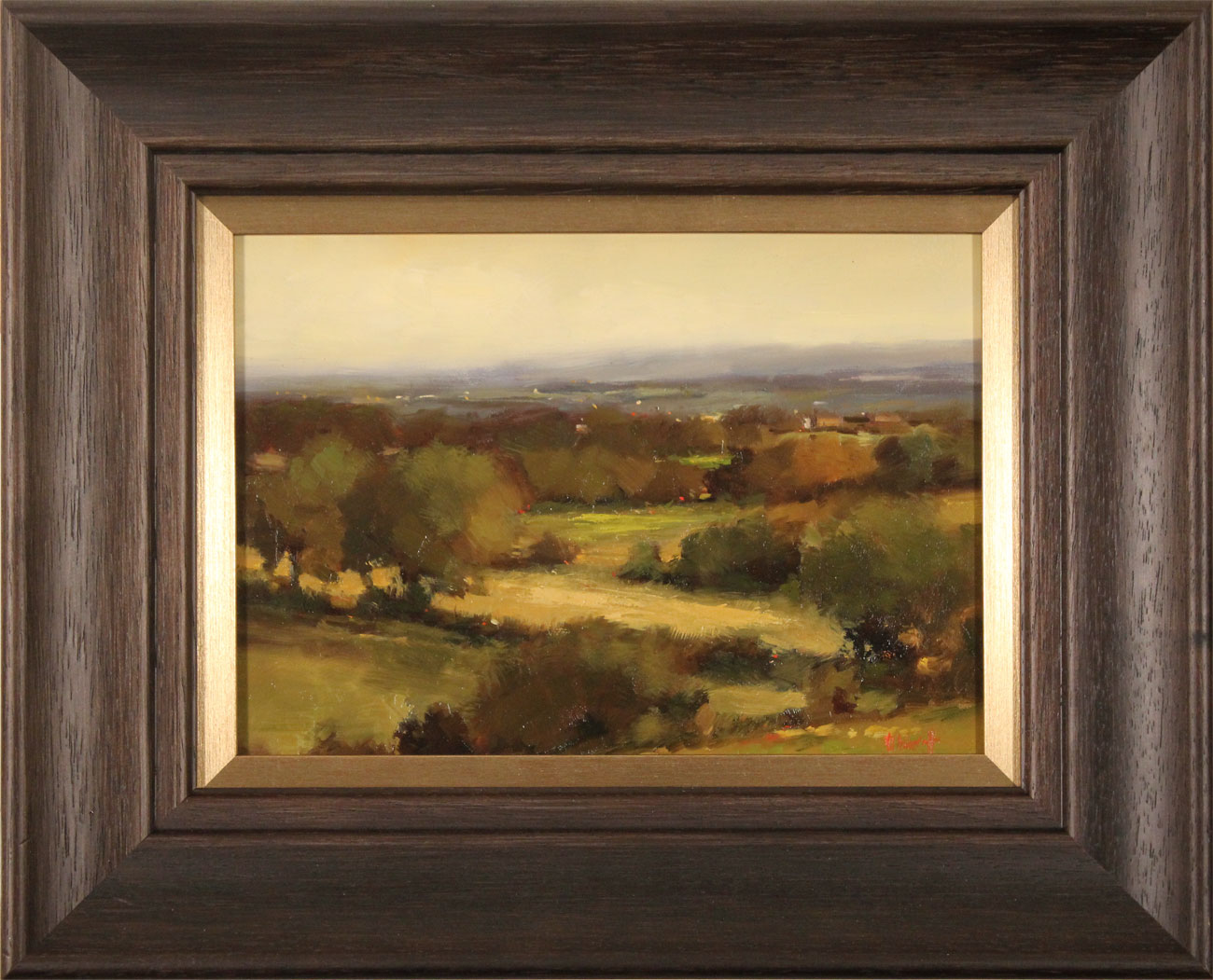 Michael John Ashcroft, AROI, Original oil painting on panel, On the Edge of Autumn. Click to enlarge