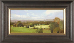 Michael John Ashcroft, AROI, Original oil painting on panel, The Brink of Autumn Large image. Click to enlarge