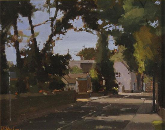 Michael John Ashcroft, MAFA, Original oil painting on panel, The Old Post Office