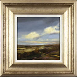 Michael John Ashcroft, Original oil painting on panel, Autumn Gold, Yorkshire