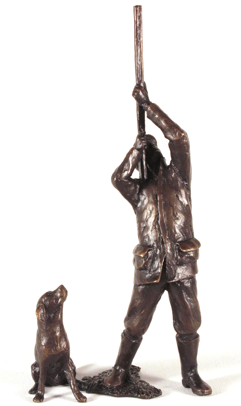 Michael Simpson, Bronze, Last Drive. Click to enlarge
