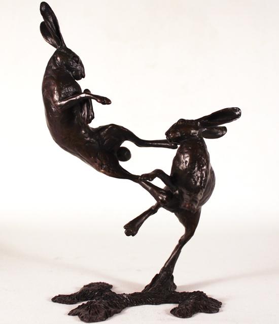 Michael Simpson, Bronze, Medium Hares Boxing