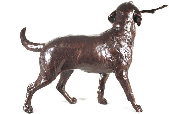 Michael Simpson, Bronze, Retriever  Signature image. Click to enlarge