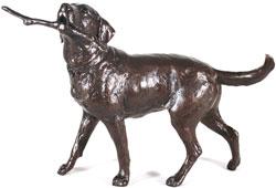 Michael Simpson, Bronze, Retriever  Large image. Click to enlarge