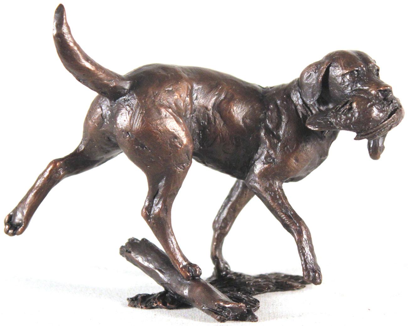 Michael Simpson, Bronze, Working Labrador, click to enlarge