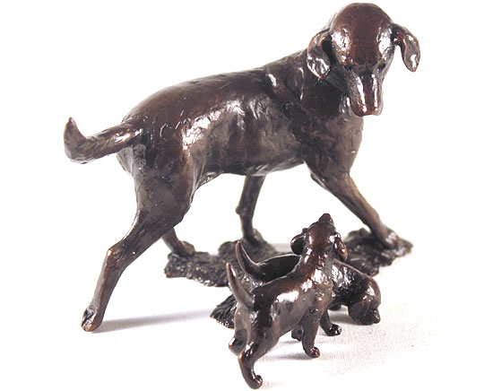 Michael Simpson, Bronze, Patience No frame image. Click to enlarge