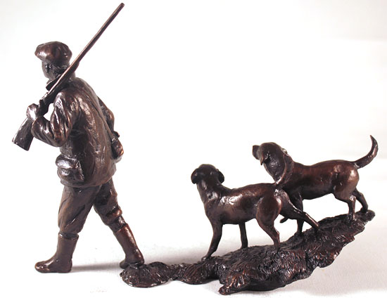Michael Simpson, Bronze, In the Field Without frame image. Click to enlarge