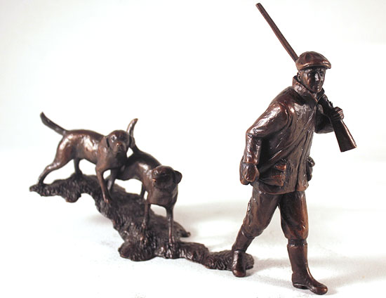 Michael Simpson, Bronze, In the Field Signature image. Click to enlarge