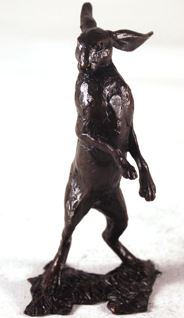 Michael Simpson, Bronze, Small Hare Standing