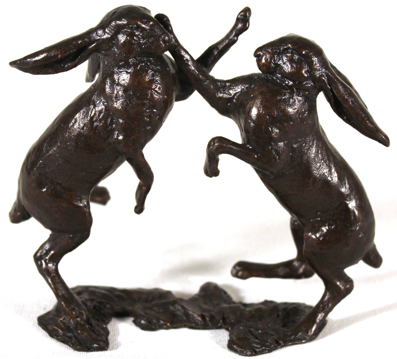 Michael Simpson, Bronze, Small Hares Boxing. Click to enlarge