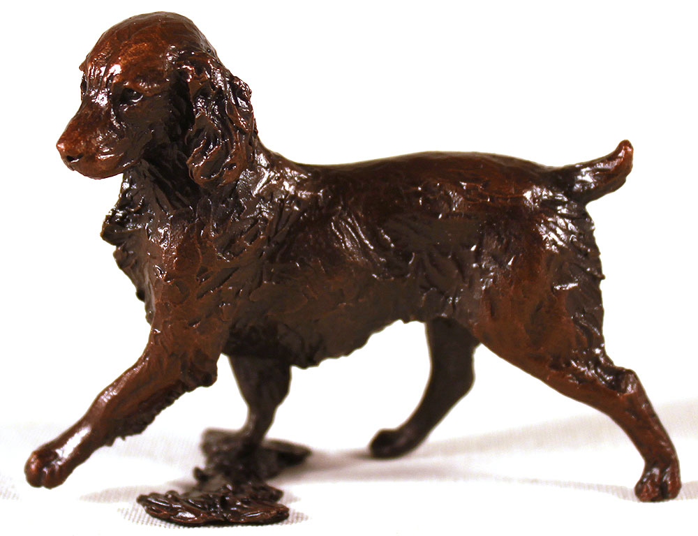 Michael Simpson, Bronze, Small Springer Spaniel. Click to enlarge